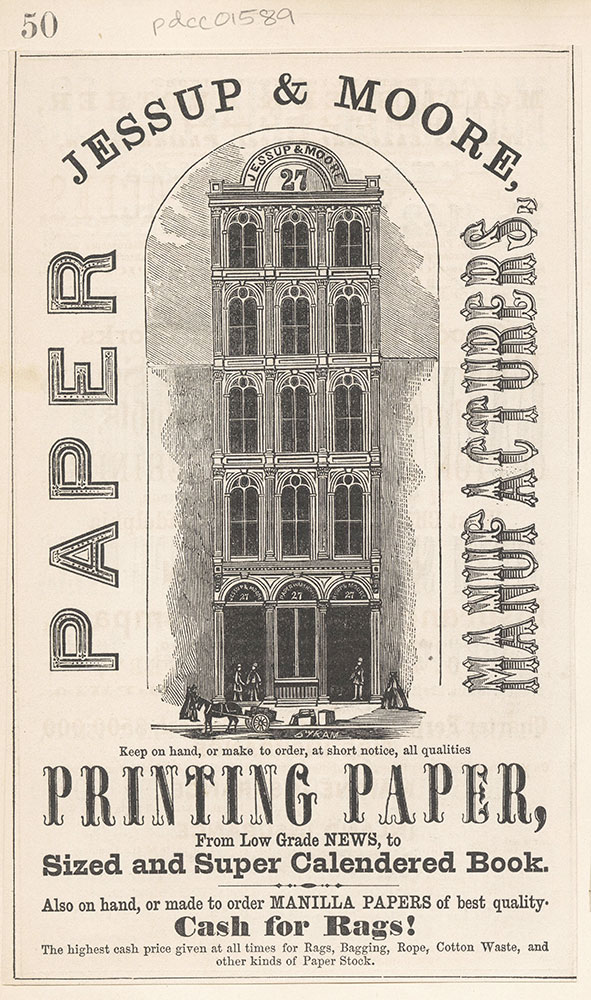 Jessup & Moore, paper manufacturers.