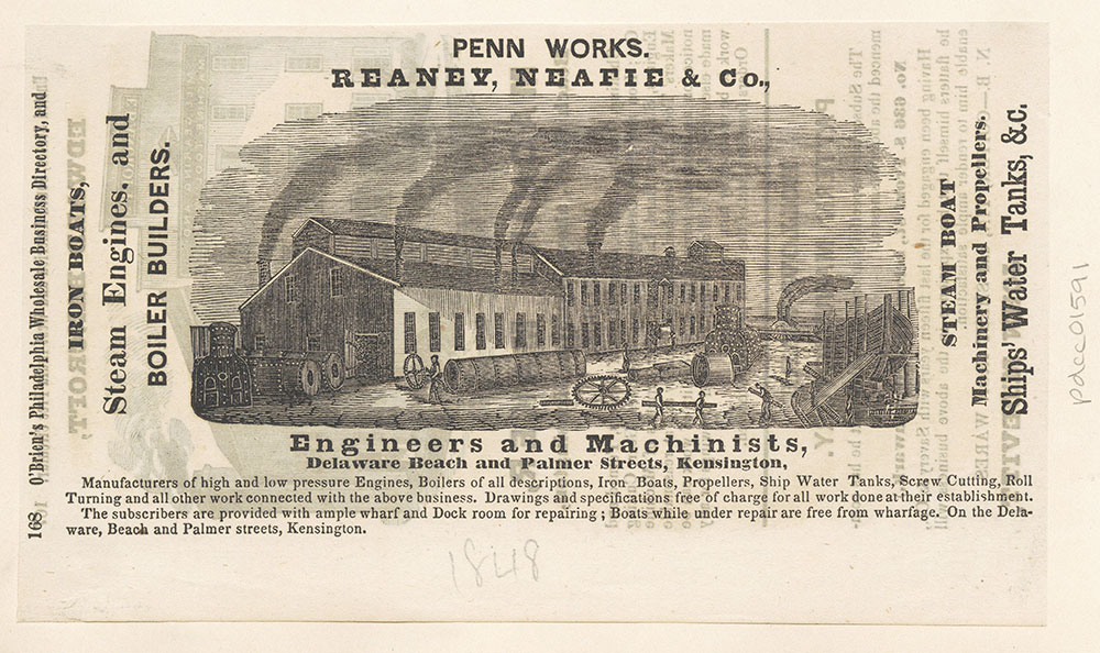 Reaney, Neafie & Co., Engineers and Machinists