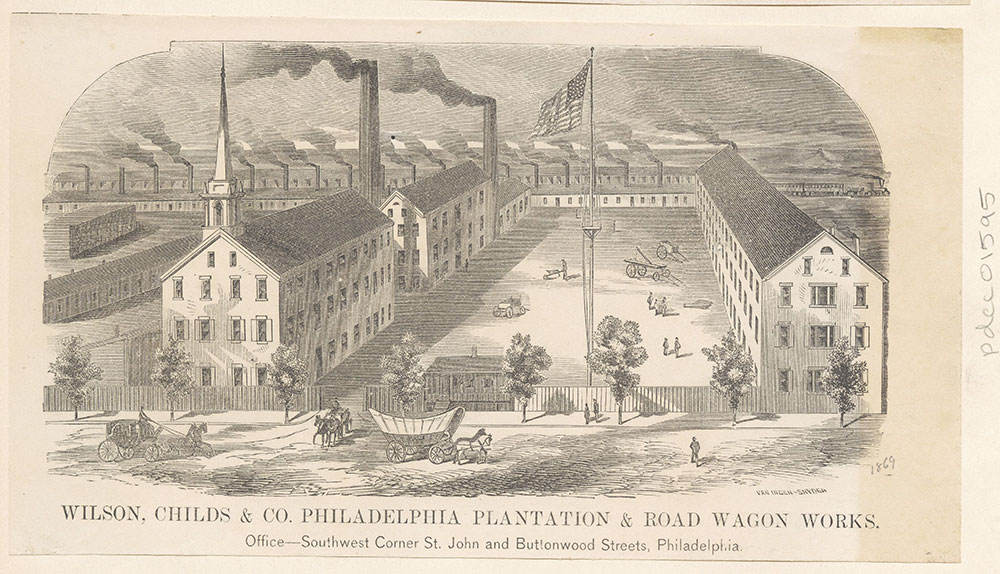 Wilson, Childs & Co. Philadelphia Plantation & Road Wagon Works.