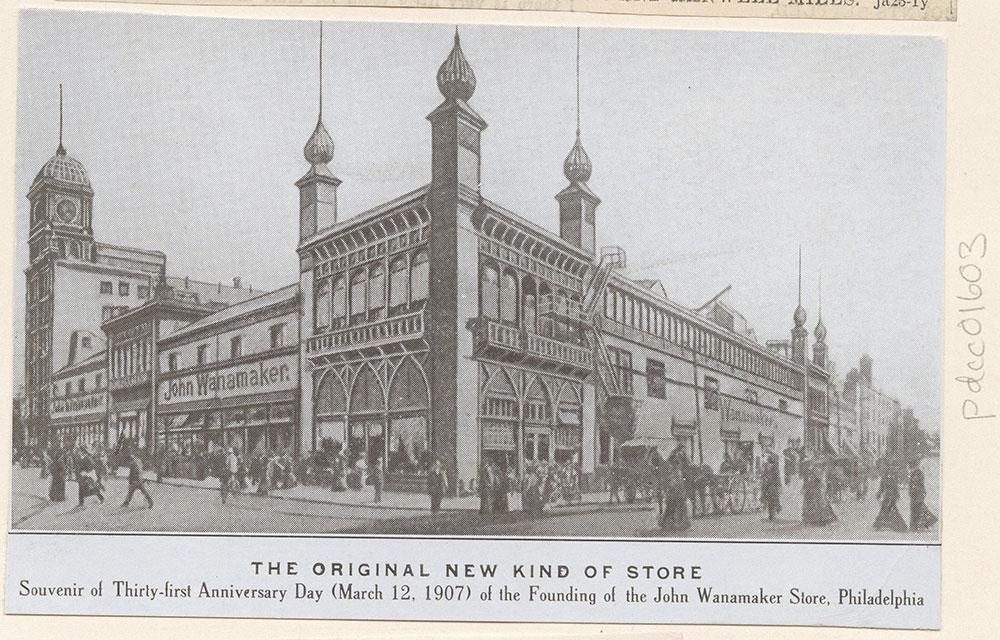 John Wanamaker's Grand Depot.