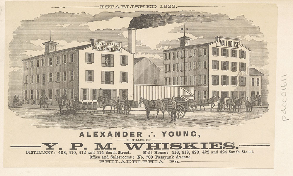 Alexander Young, Distiller of Y. P. M. Whiskies