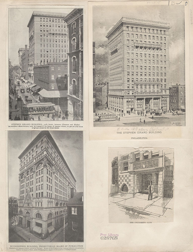 Castner Scrapbook v.15, Sundry Buildings 1, page 1B