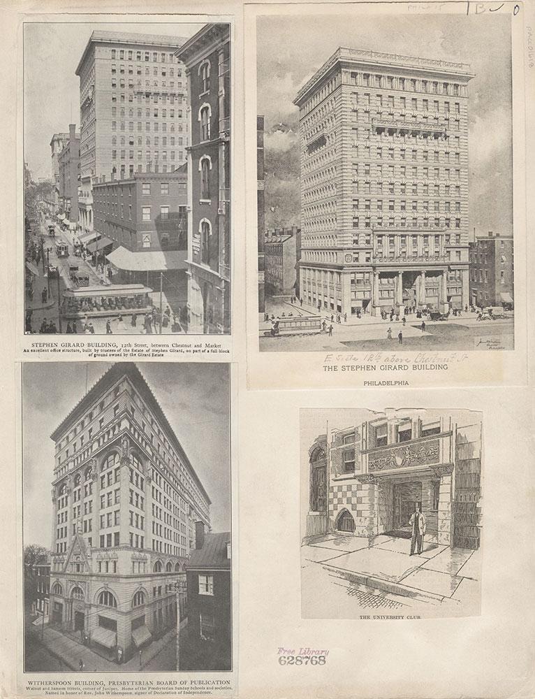 Castner Scrapbook v.15, Sundry Buildings 1, page 1B