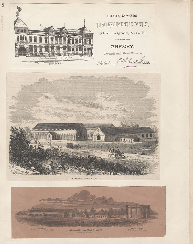 Castner Scrapbook v.15, Sundry Buildings 1, page 2