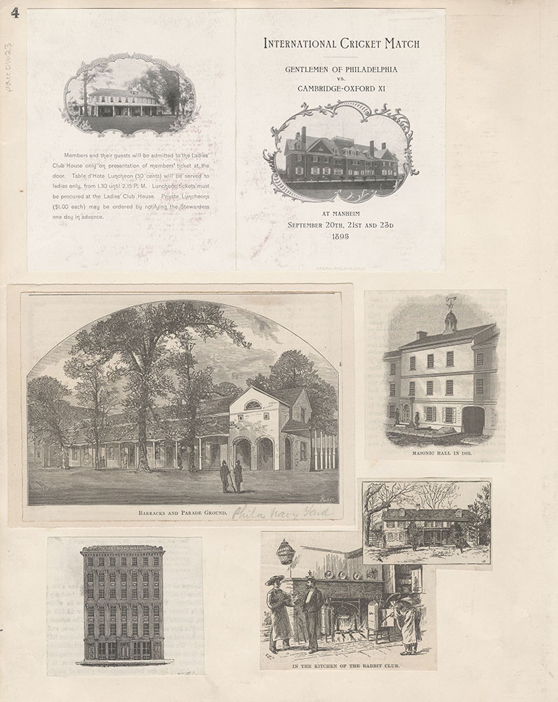 Castner Scrapbook v.15, Sundry Buildings 1, page 4