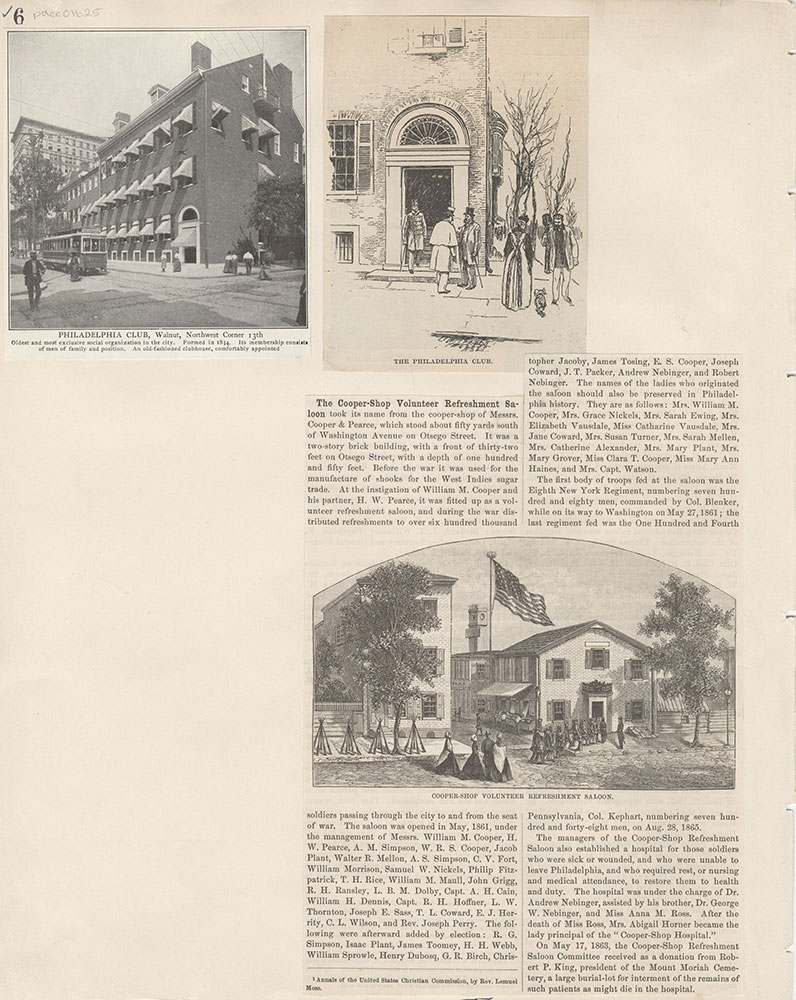 Castner Scrapbook v.15, Sundry Buildings 1, page 6