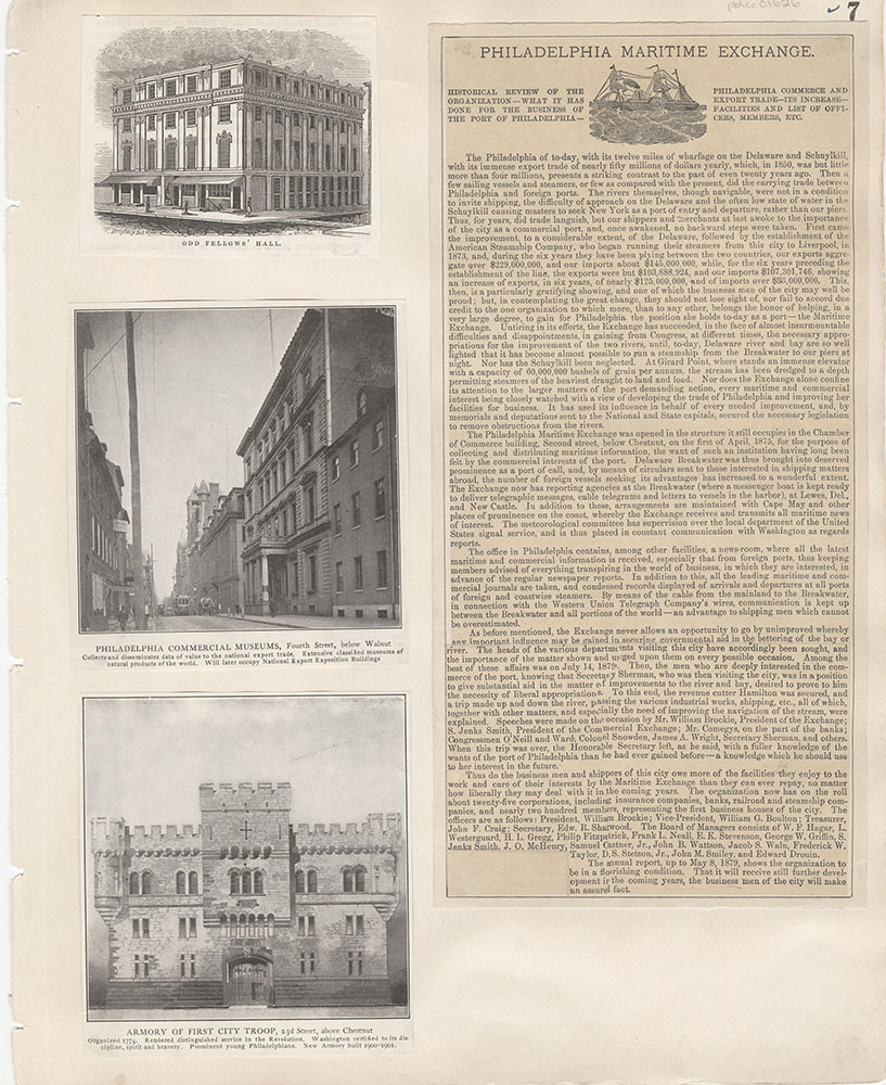 Castner Scrapbook v.15, Sundry Buildings 1, page 7