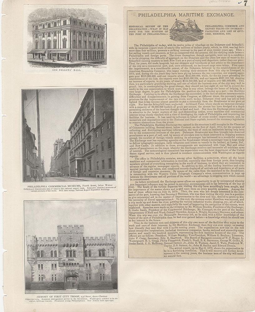 Castner Scrapbook v.15, Sundry Buildings 1, page 7