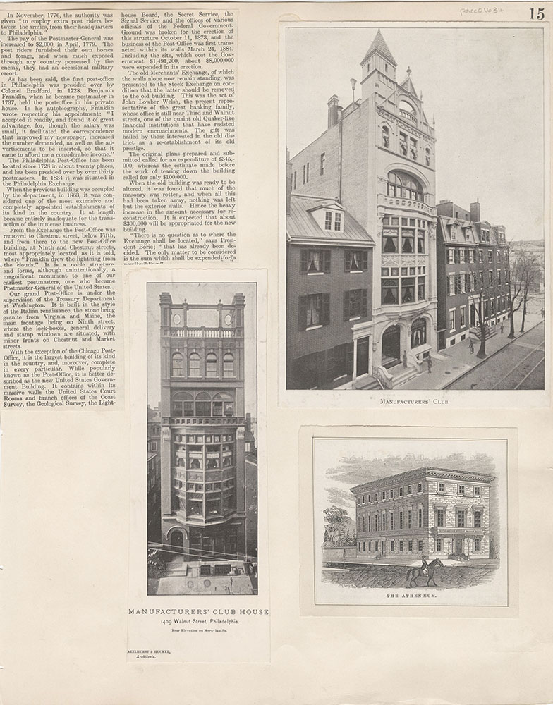 Castner Scrapbook v.15, Sundry Buildings 1, page 15