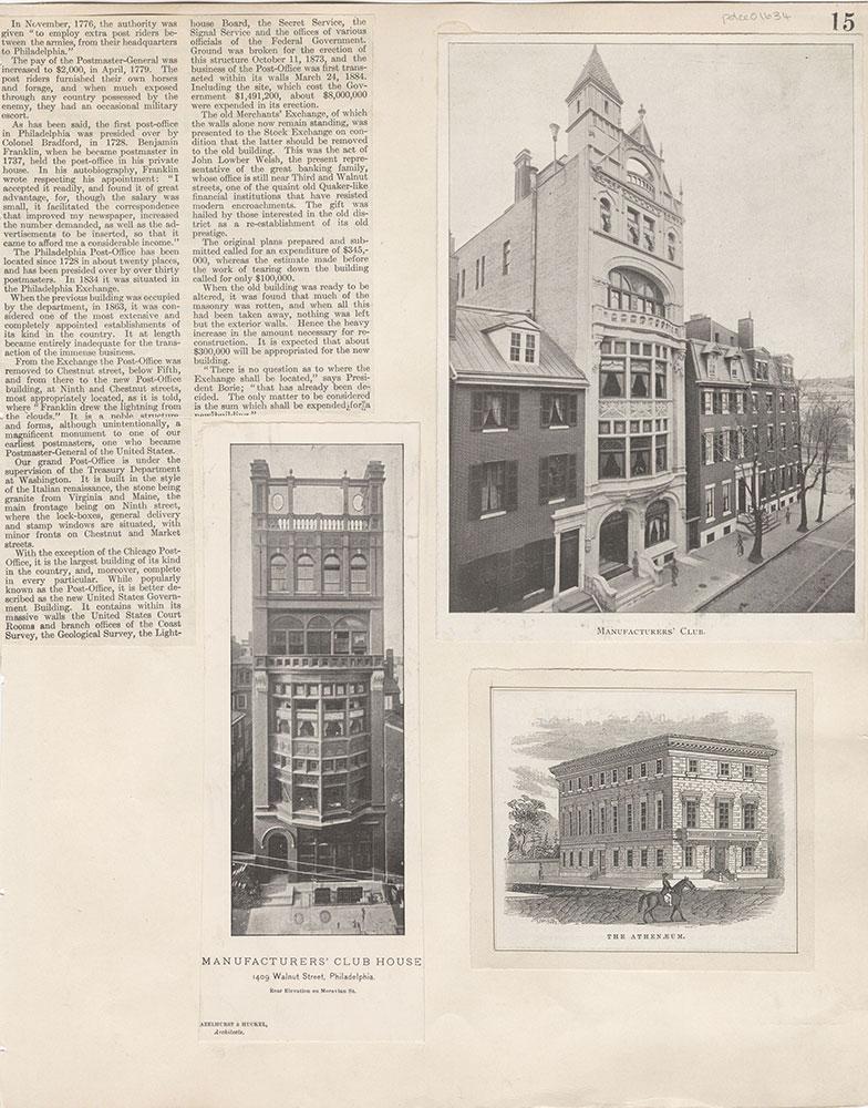 Castner Scrapbook v.15, Sundry Buildings 1, page 15