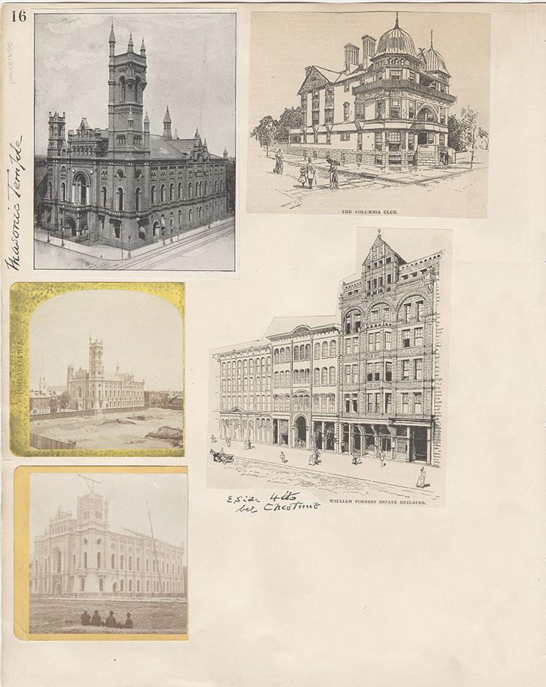 Castner Scrapbook v.15, Sundry Buildings 1, page 16