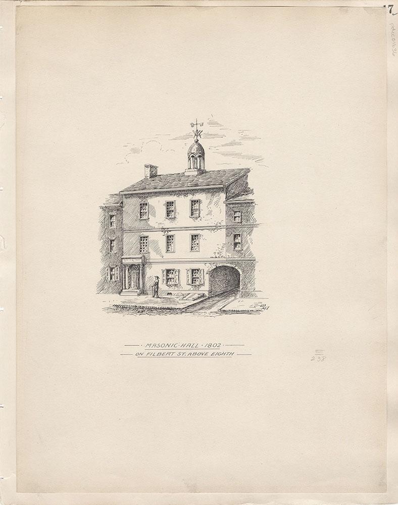 Castner Scrapbook v.15, Sundry Buildings 1,  page 17
