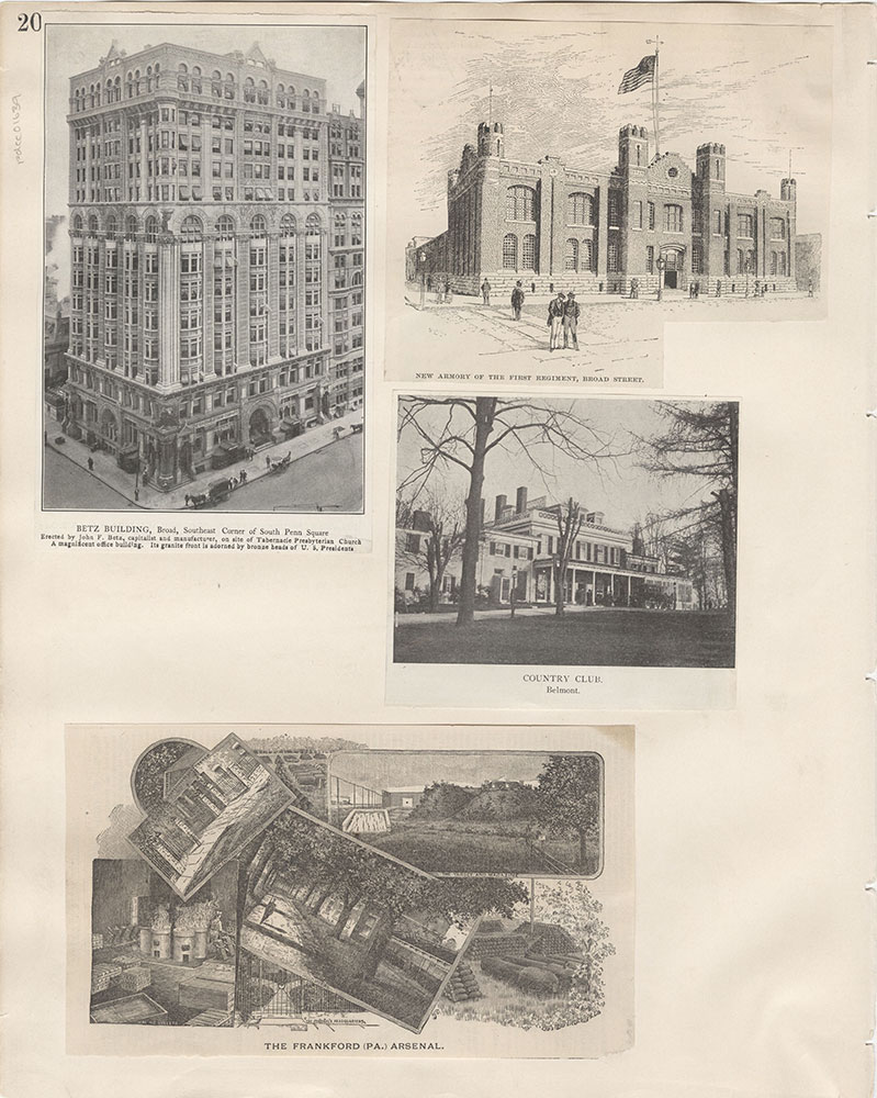Castner Scrapbook v.15, Sundry Buildings 1, page 20