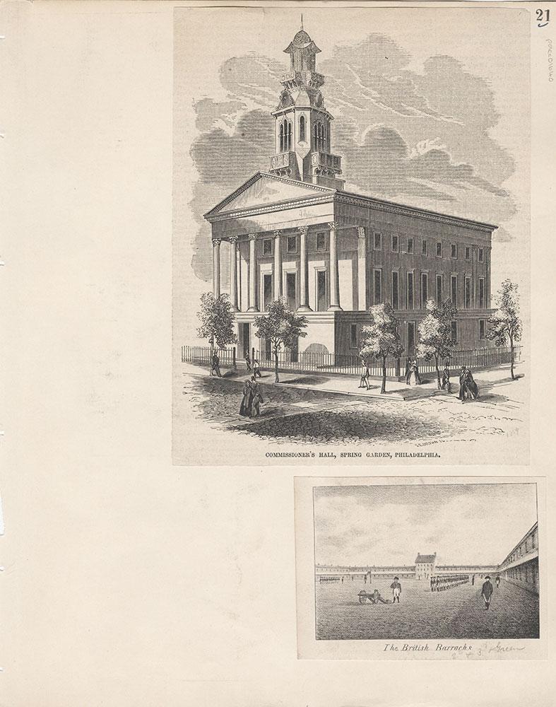 Castner Scrapbook v.15, Sundry Buildings 1, page 21