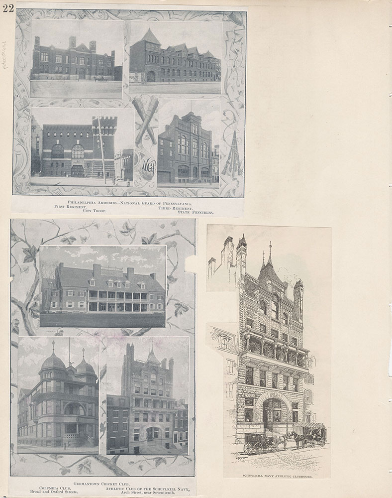 Castner Scrapbook v.15, Sundry Buildings 1, page 22
