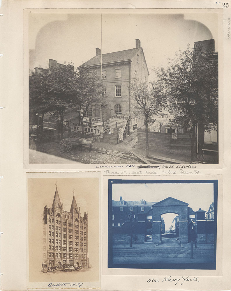 Castner Scrapbook v.15, Sundry Buildings 1, page 25