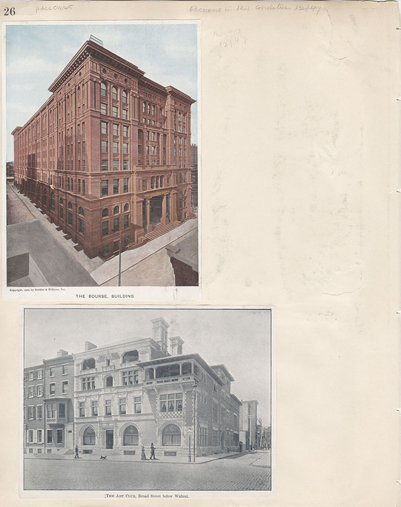 Castner Scrapbook v.15, Sundry Buildings 1, page 26