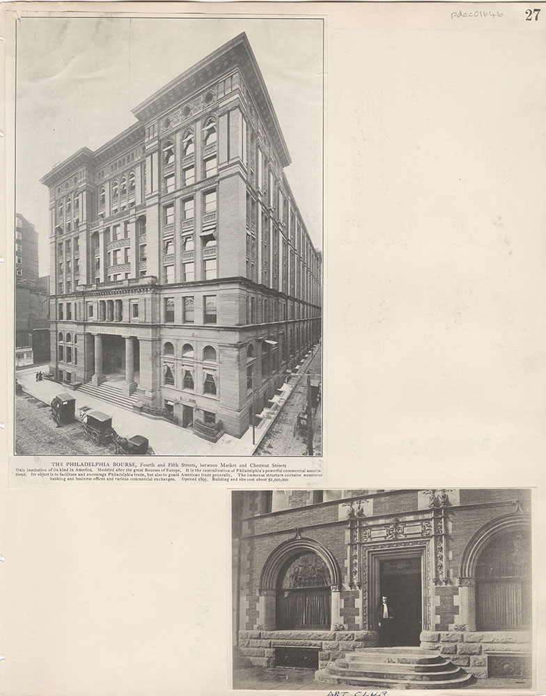 Castner Scrapbook v.15, Sundry Buildings 1, page 27