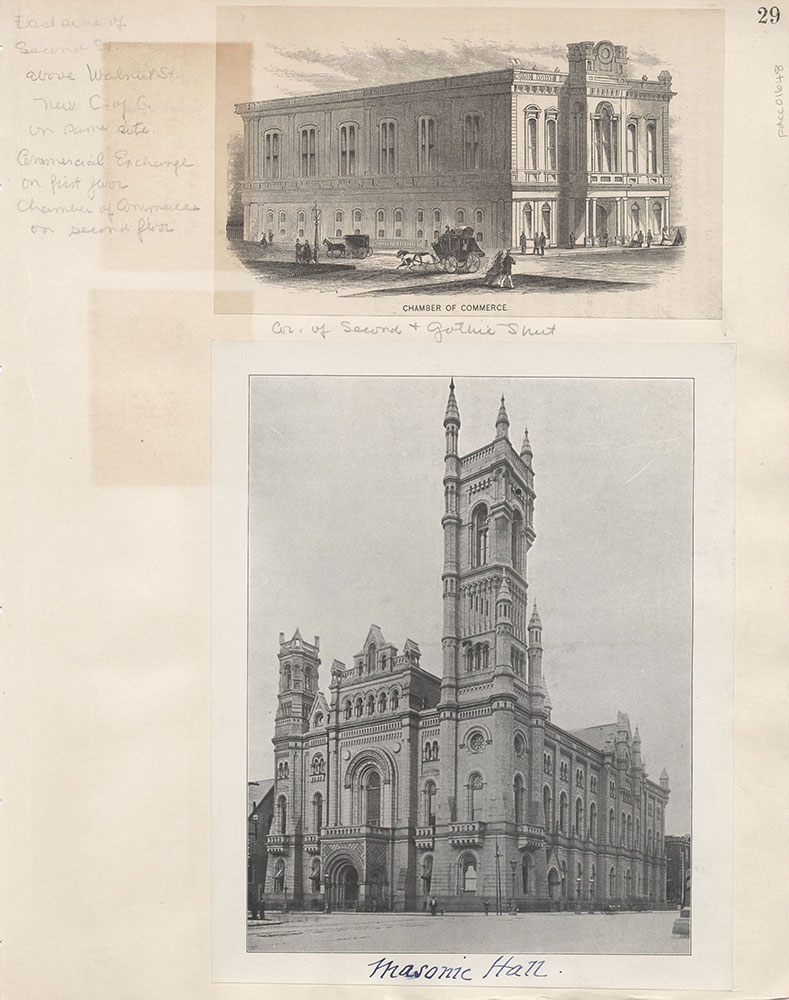 Castner Scrapbook v.15, Sundry Buildings 1, page 29
