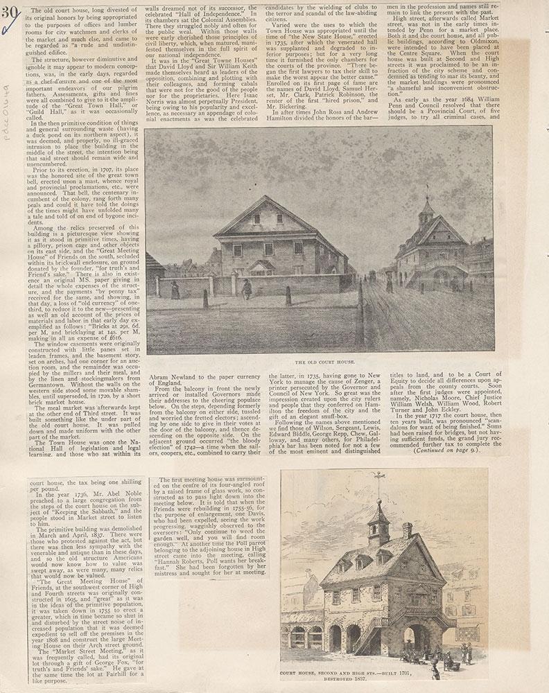 Castner Scrapbook v.15, Sundry Buildings 1, page 30