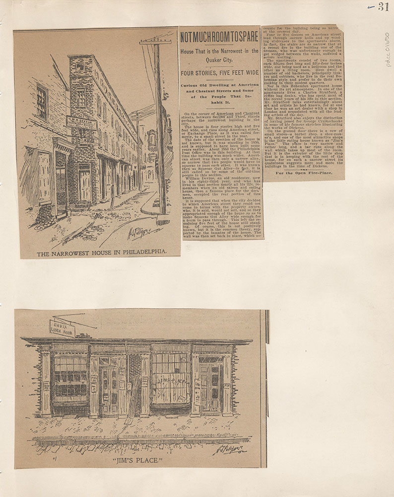Castner Scrapbook v.15, Sundry Buildings 1, page 31