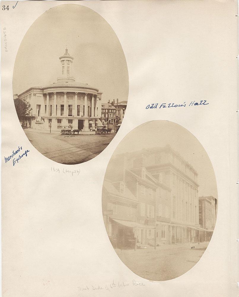 Castner Scrapbook v.15, Sundry Buildings 1, page 34