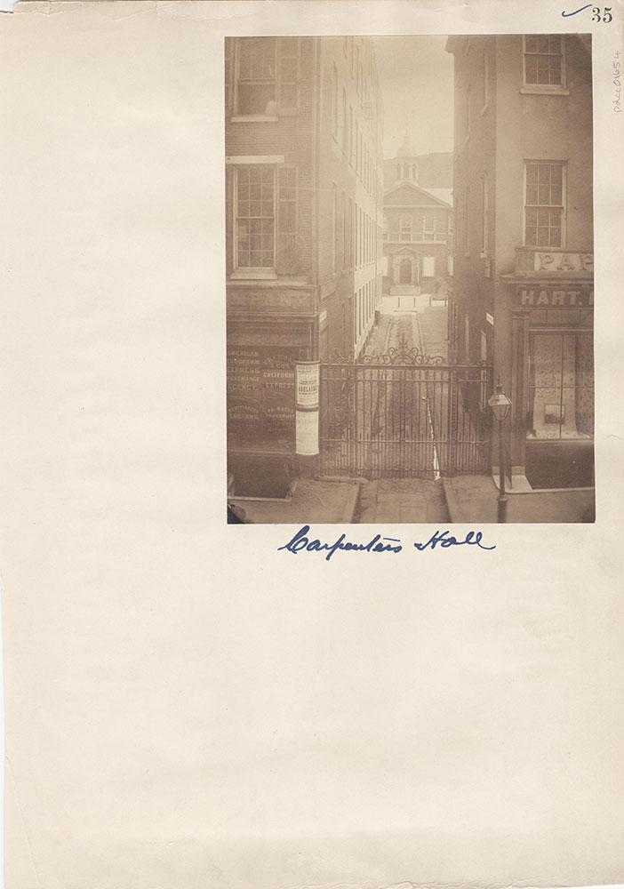 Castner Scrapbook v.15, Sundry Buildings 1, page 35