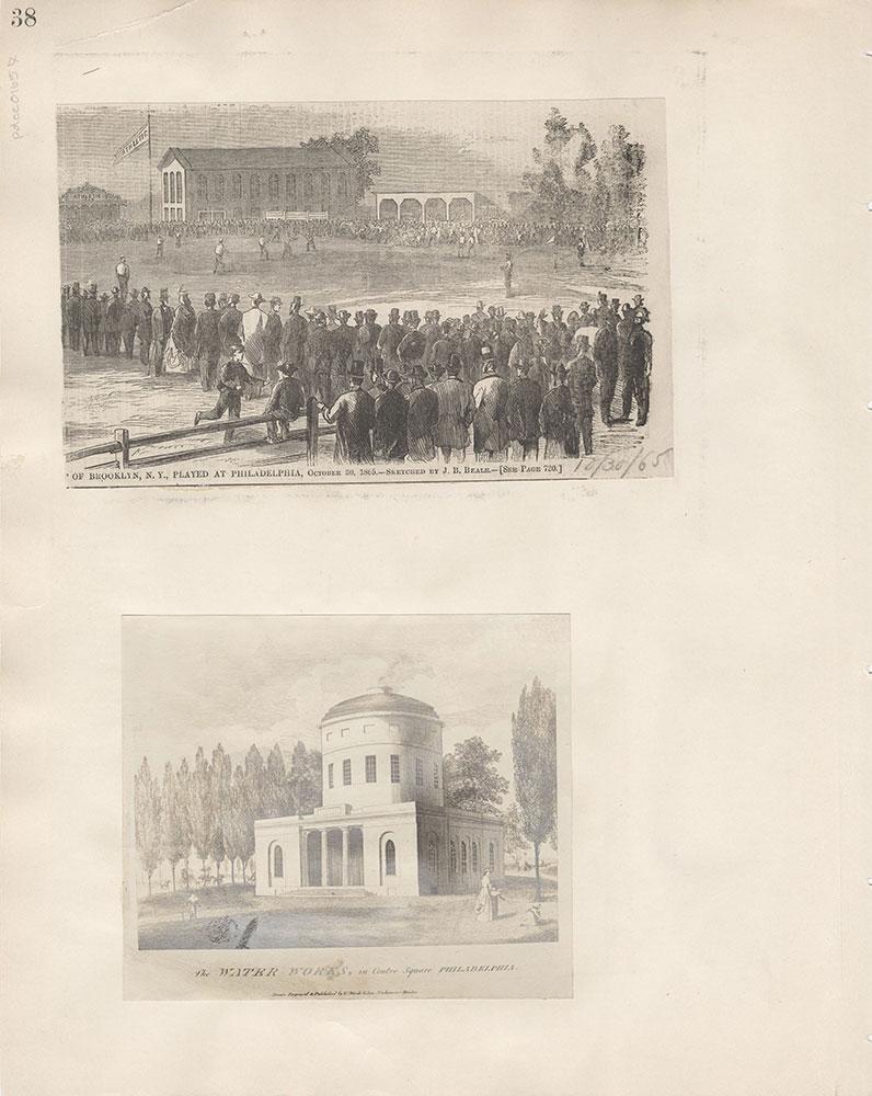 Castner Scrapbook v.15, Sundry Buildings 1, page 38