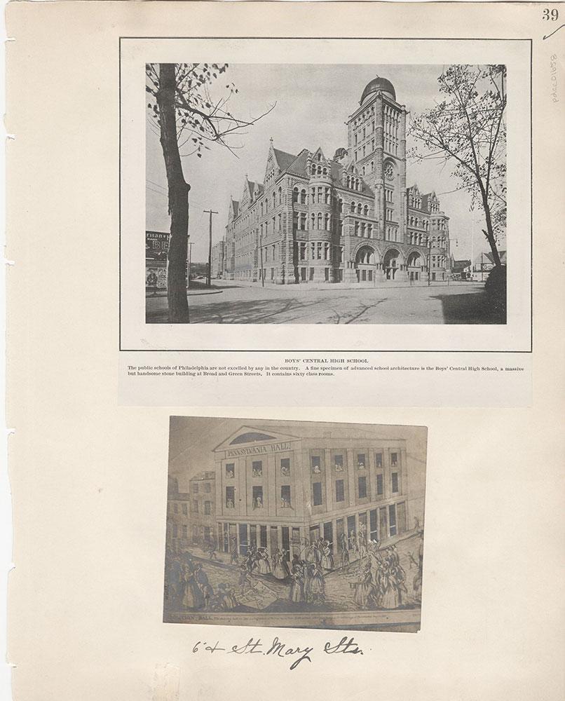 Castner Scrapbook v.15, Sundry Buildings 1, page 39