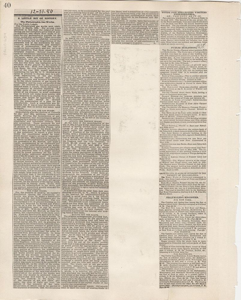 Castner Scrapbook v.15, Sundry Buildings 1, page 40