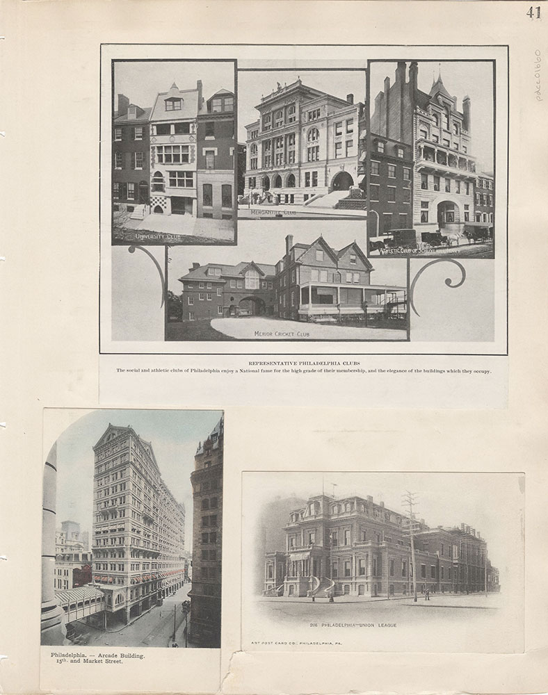 Castner Scrapbook v.15, Sundry Buildings 1, page 41