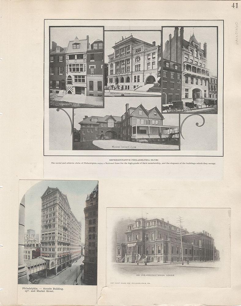 Castner Scrapbook v.15, Sundry Buildings 1, page 41