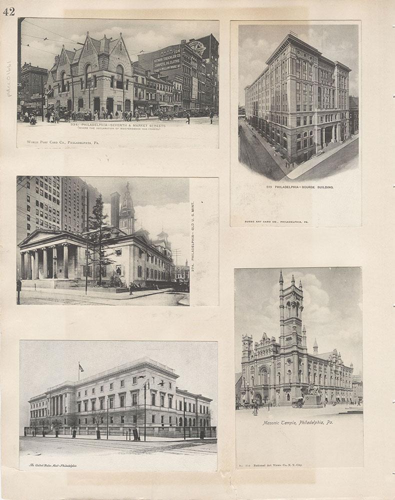 Castner Scrapbook v.15, Sundry Buildings 1, page 42