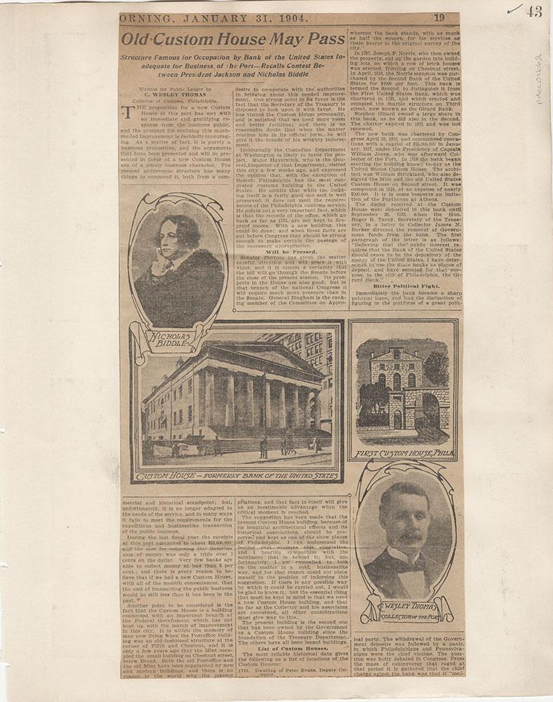 Castner Scrapbook v.15, Sundry Buildings 1, page 43