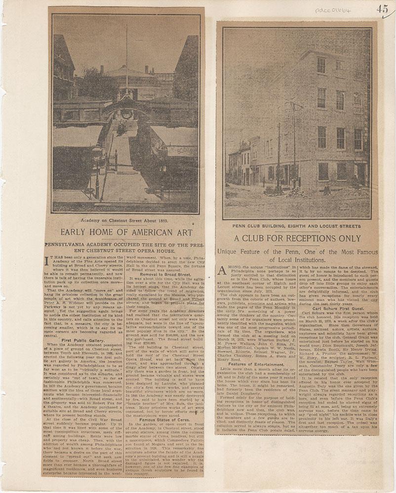Castner Scrapbook v.15, Sundry Buildings 1, page 45