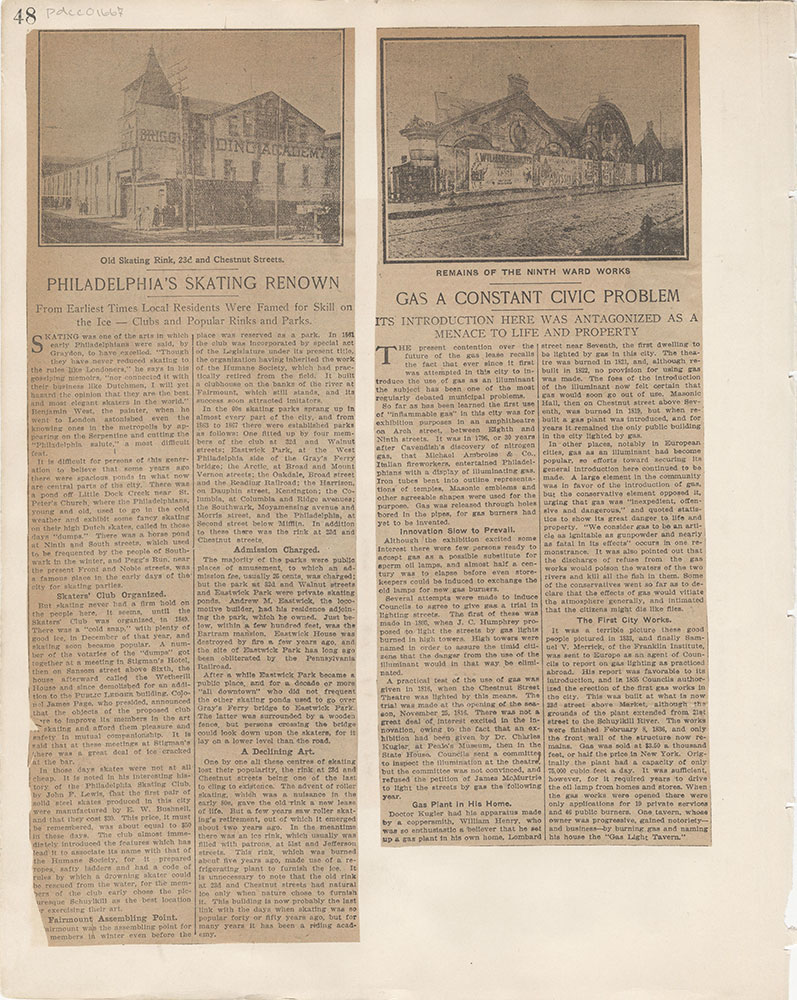Castner Scrapbook v.15, Sundry Buildings 1, page 48