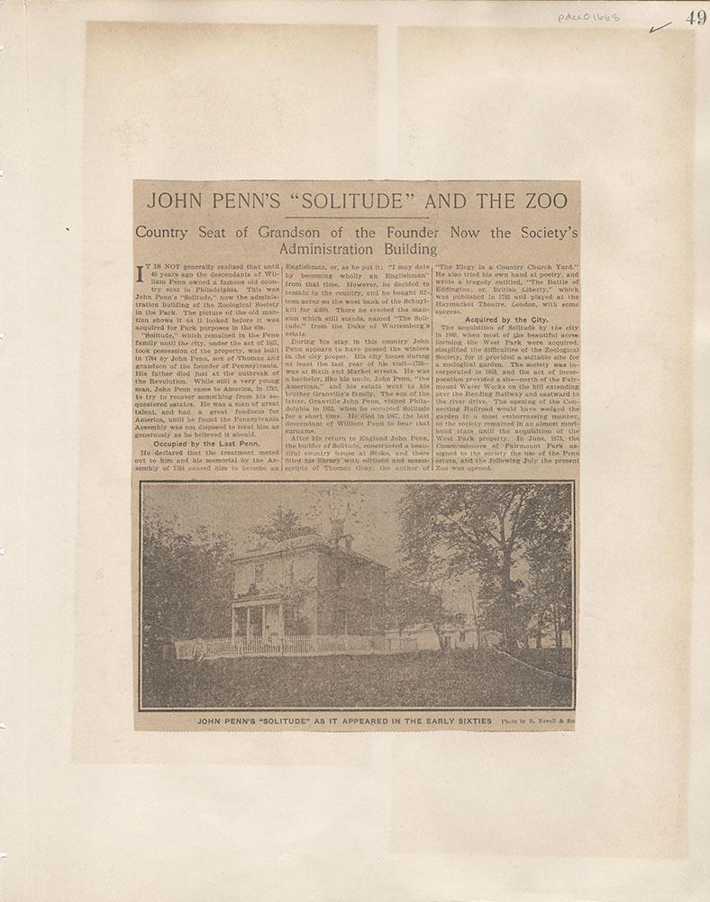 Castner Scrapbook v.15, Sundry Buildings 1, page 49