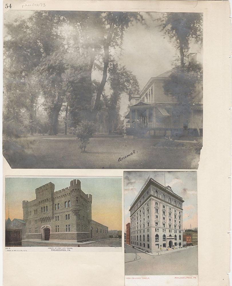 Castner Scrapbook v.15, Sundry Buildings 1, page 54