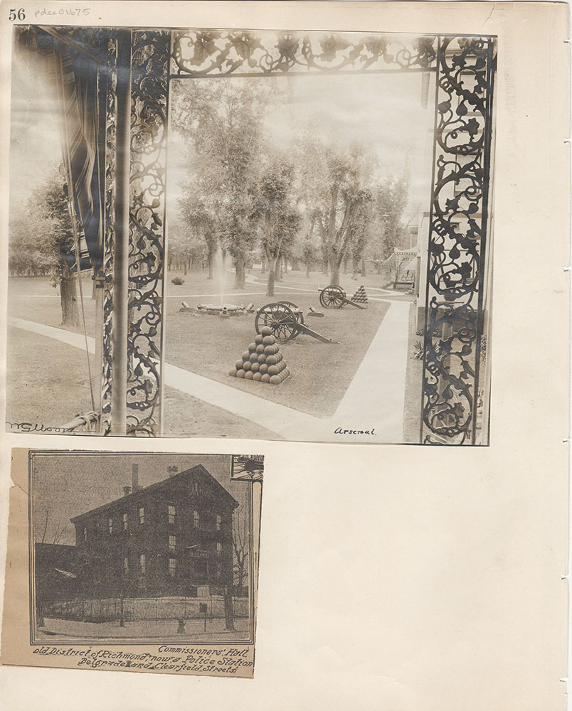 Castner Scrapbook v.15, Sundry Buildings 1, page 56