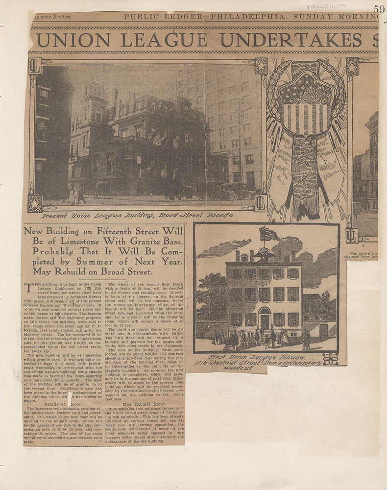 Castner Scrapbook v.15, Sundry Buildings 1, page 59
