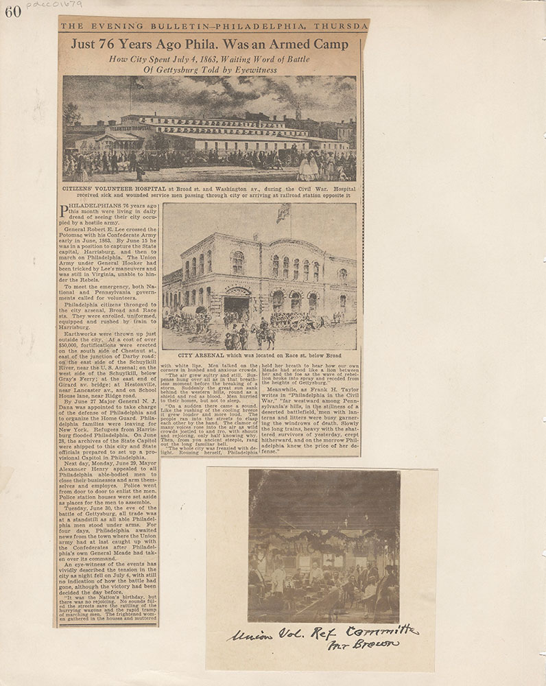 Castner Scrapbook v.15, Sundry Buildings 1, page 60