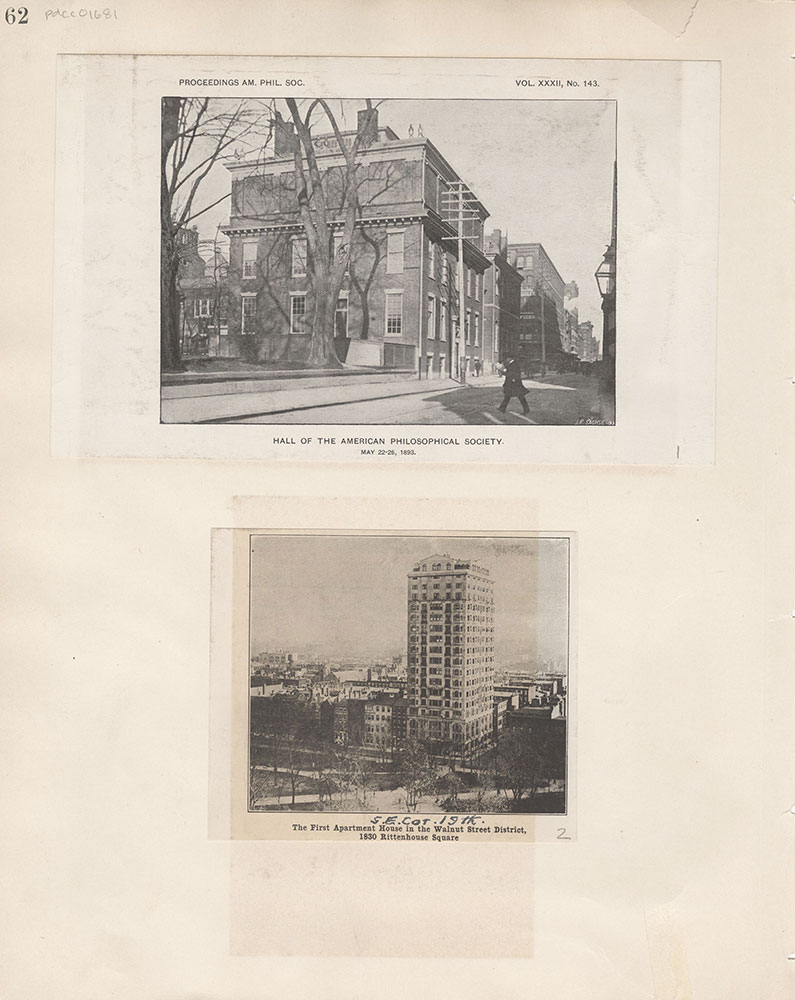 Castner Scrapbook v.15, Sundry Buildings 1, page 62