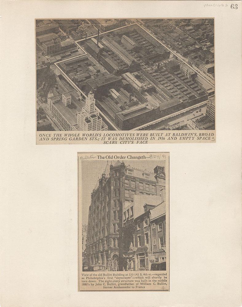 Castner Scrapbook v.15, Sundry Buildings 1, page 63