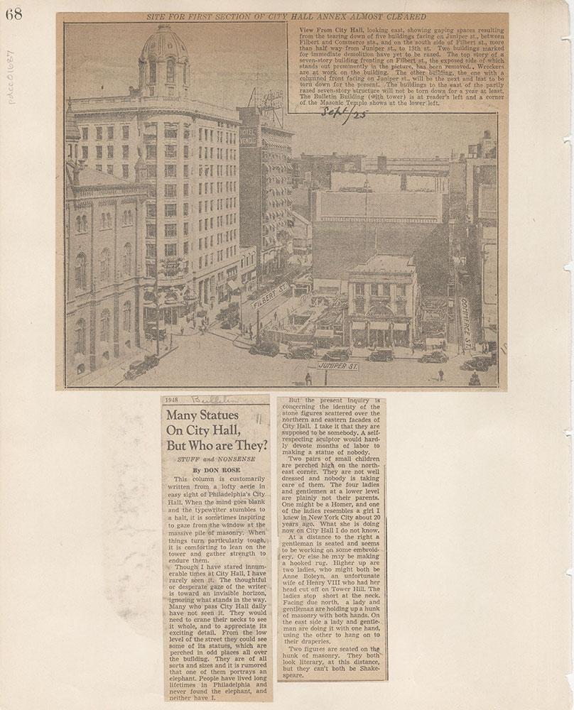 Castner Scrapbook v.15, Sundry Buildings 1, page 68