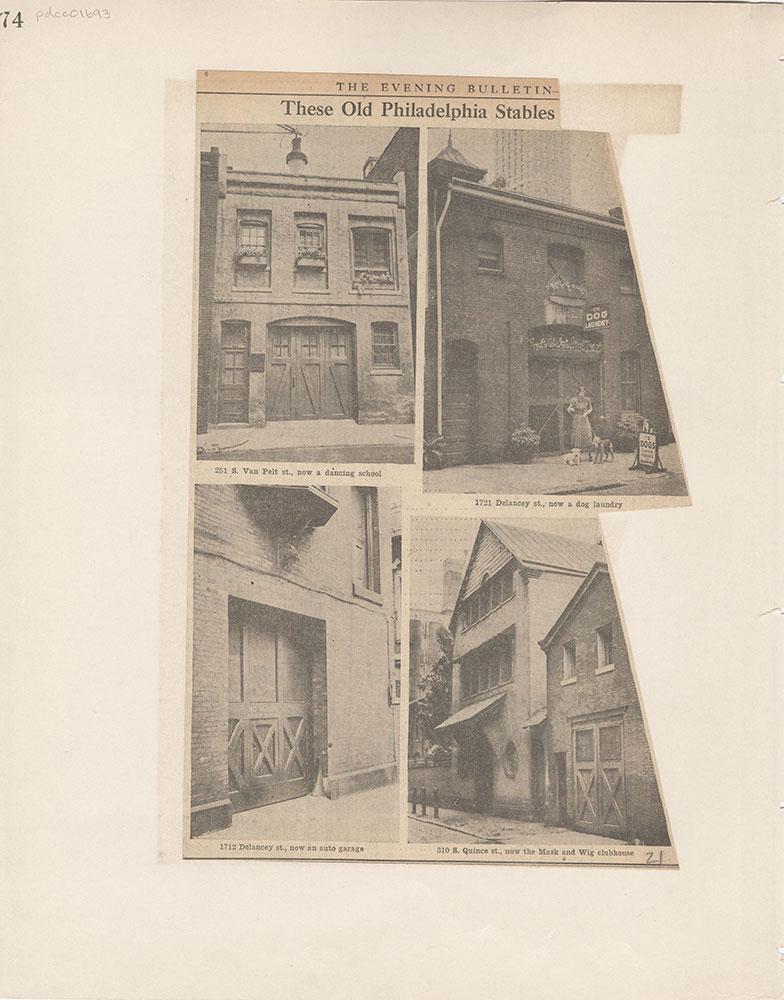 Castner Scrapbook v.15, Sundry Buildings 1, page 74