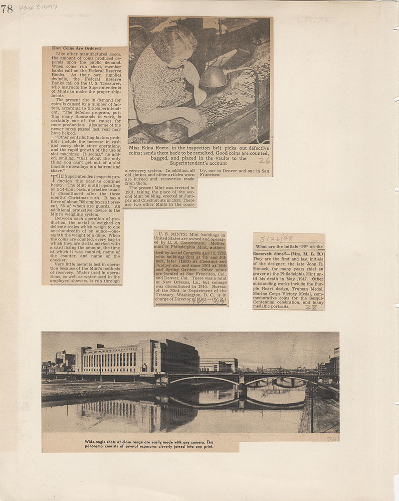 Castner Scrapbook v.15, Sundry Buildings 1, page 78