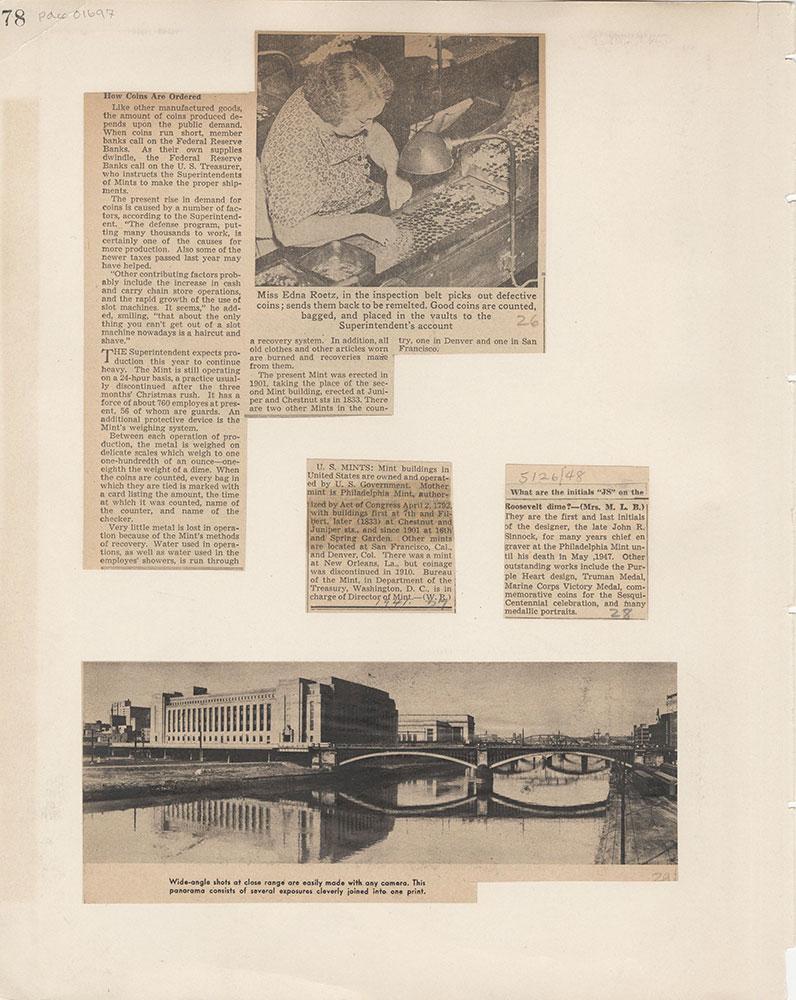 Castner Scrapbook v.15, Sundry Buildings 1, page 78
