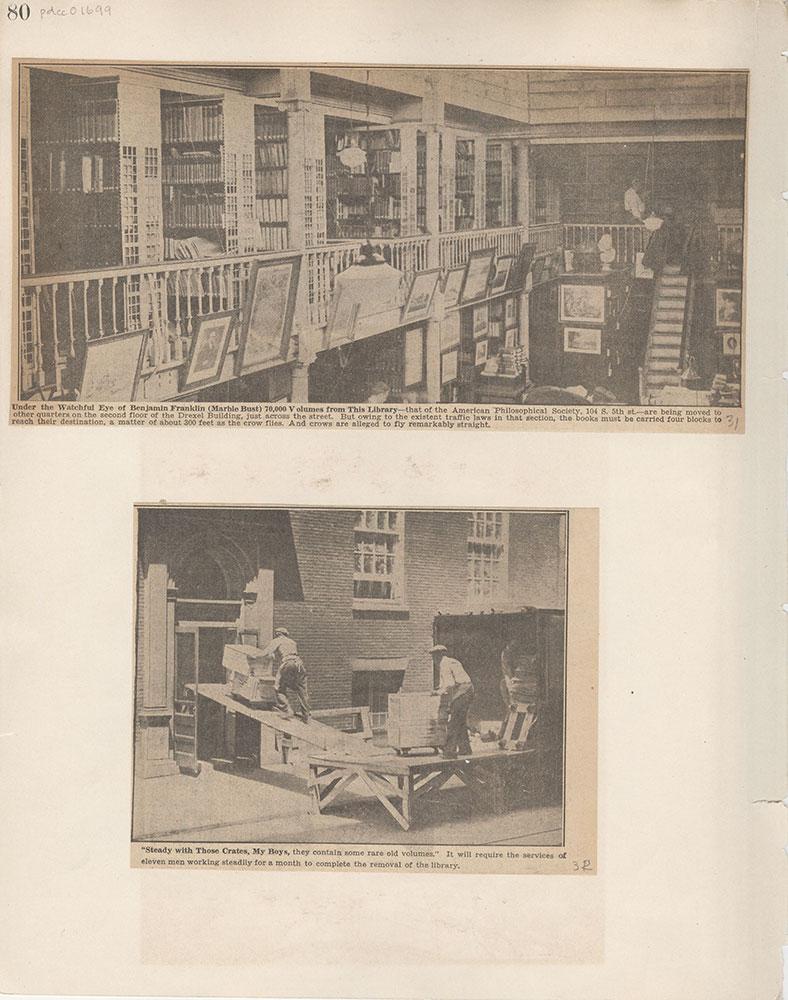 Castner Scrapbook v.15, Sundry Buildings 1, page 80