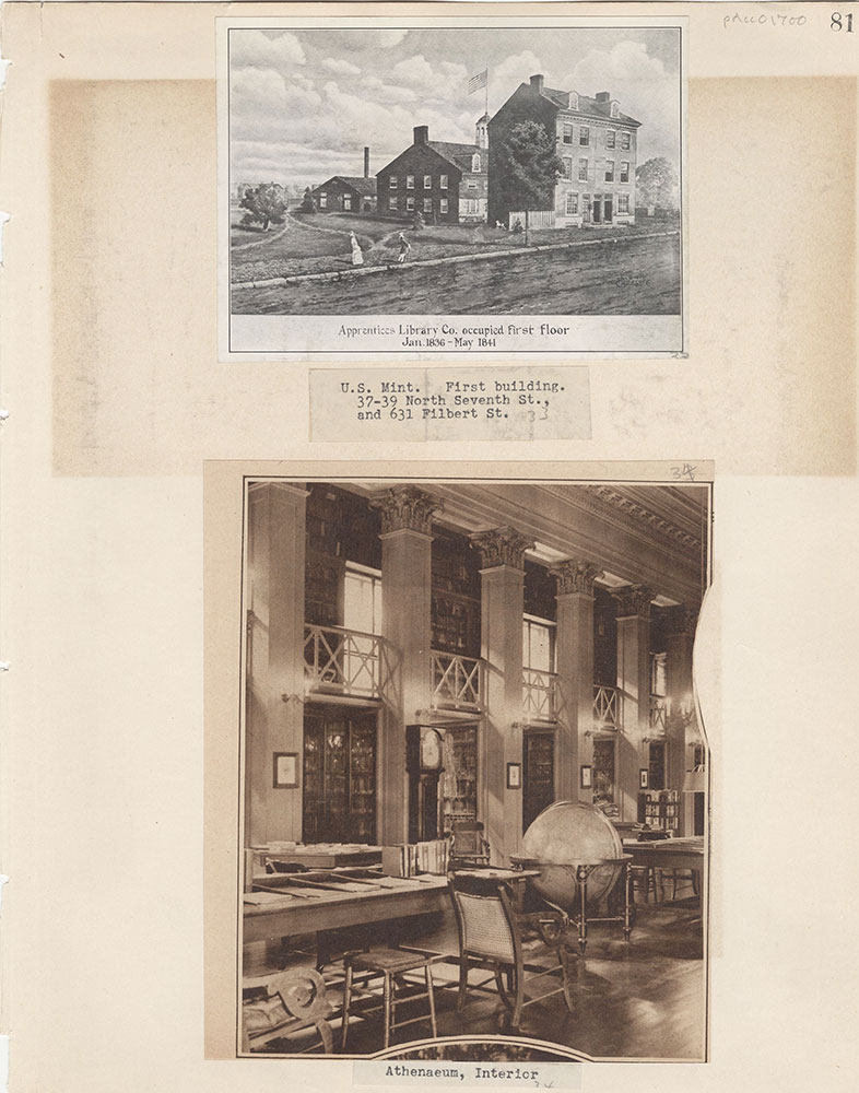 Castner Scrapbook v.15, Sundry Buildings 1, page 81