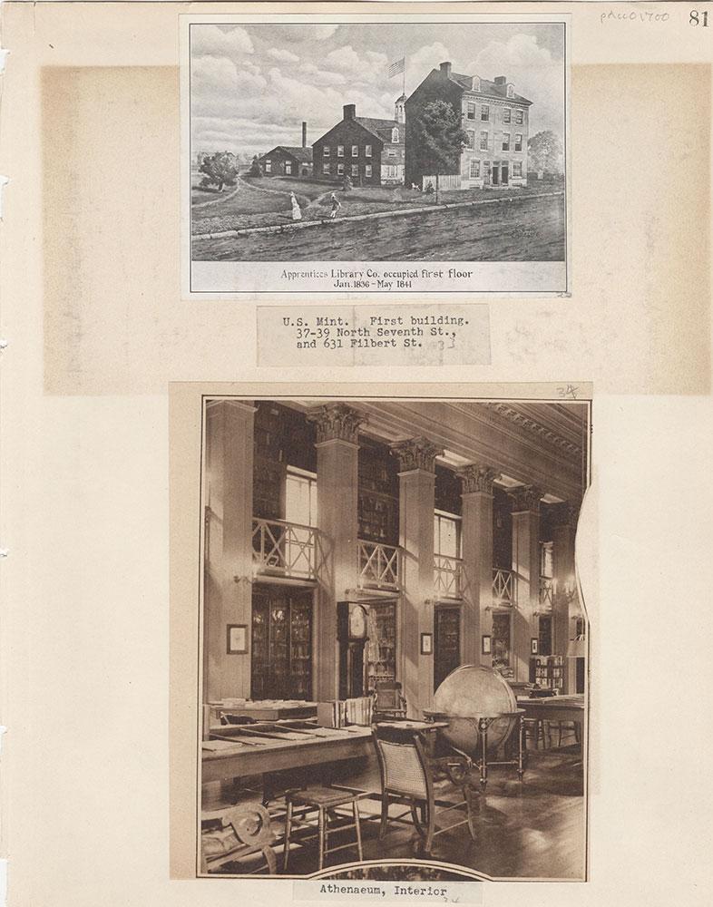 Castner Scrapbook v.15, Sundry Buildings 1, page 81